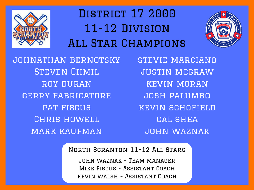 2000 11-12 Division All Star Champs